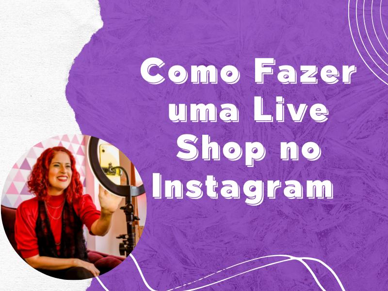 Live Shop No Instagram